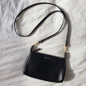 Fendi Crayons Black Saffiano Crossbody Mini Bag